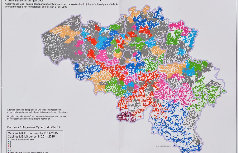P nurie d 39 lectricit plan d 39 urgence et carte des zones for Melchior interieur