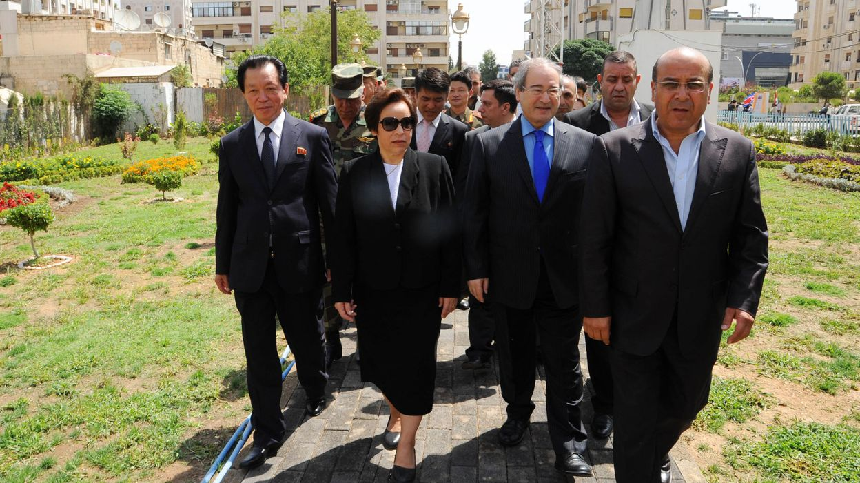 Syrie le r gime cr e un jardin la gloire d 39 un dictateur for Cree un jardin