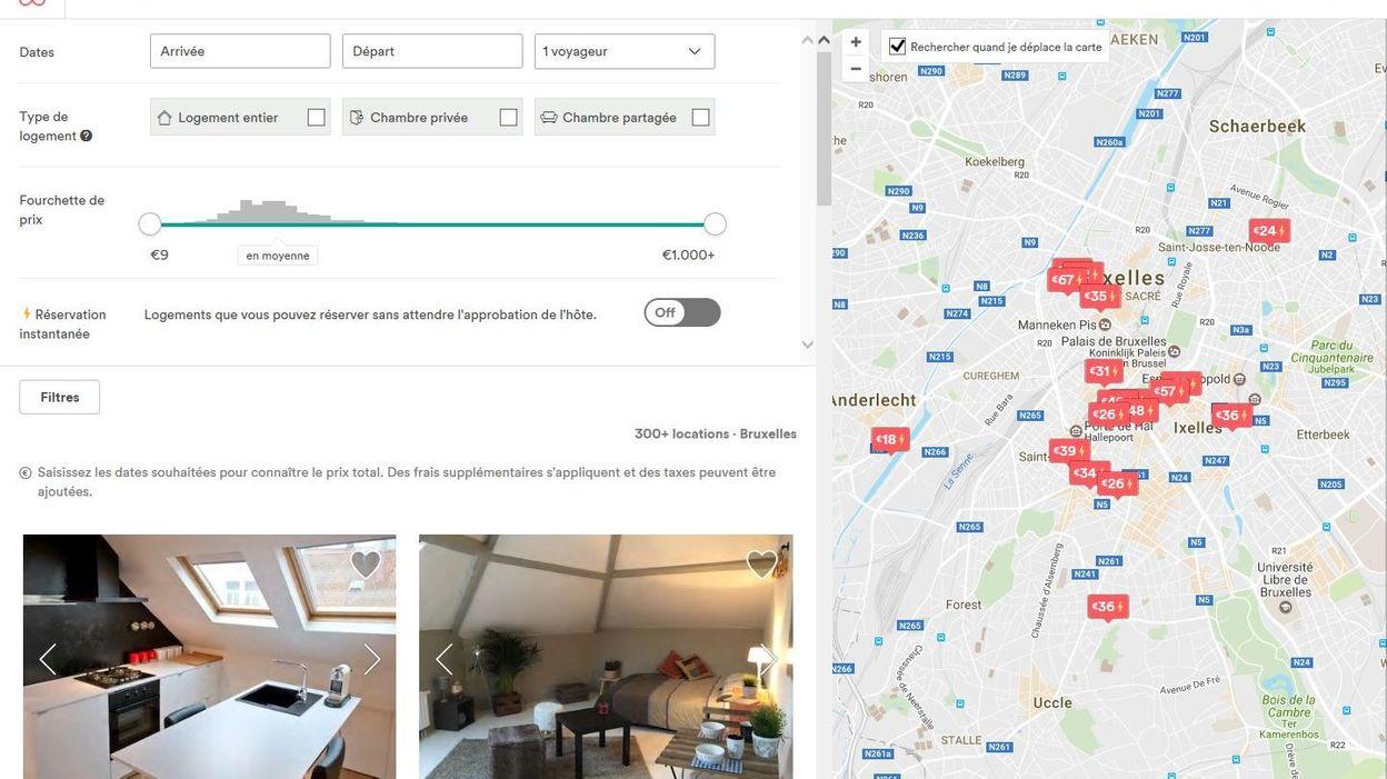 les logements airbnb tax s bruxelles. Black Bedroom Furniture Sets. Home Design Ideas
