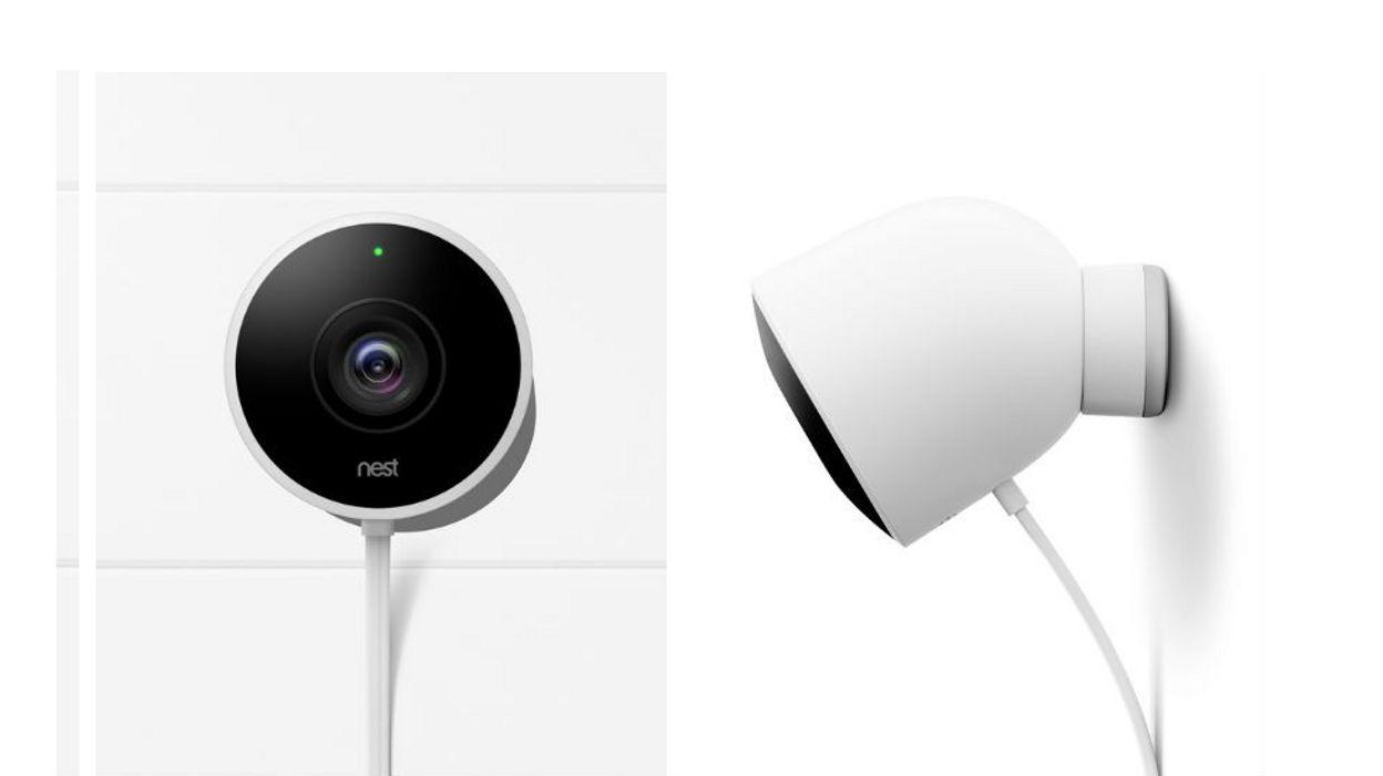 technologie une cam ra de surveillance ext rieure. Black Bedroom Furniture Sets. Home Design Ideas