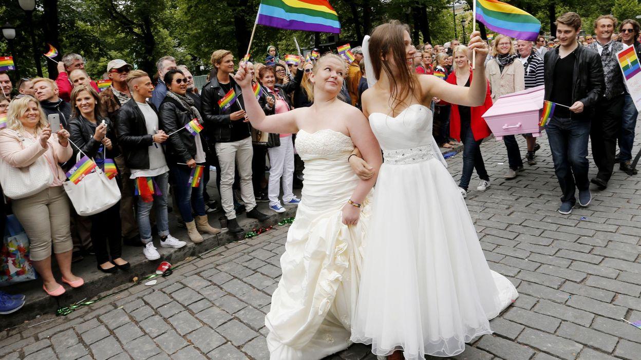 norv 232 ge le mariage religieux ouvert aux homosexuels d 232 s mercredi