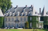 Coup d'oeil sur le parc du château de la Hulpe
