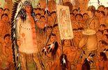 George Catlin , le premier peintre des Indiens des plaines le long du Missouri en 1832.