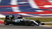 Hamilton, qui s'impose à Austin devant Rosberg, signe son 50ème succès en F1