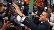 En août 2006, Barack Obama s'était rendu au Kenya. Il était alors sénateur de l'Illinois. (Reuters)