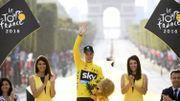 Chris Froome aussi heureux qu'à sa première victoire finale