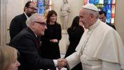 """Rencontre """"très cordiale"""" entre le pape et Martin Scorsese"""