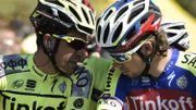Le duo Contador-Sagan en vedette chez Tinkoff pour le Tour