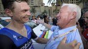 Patrick Lefevere ravi de la victoire de son équipe Etixx-Quick Step aux mondiaux