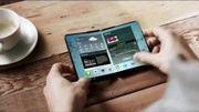 Le smartphone pliable de Samsung attendu pour la fin de l'année