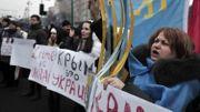 """""""La Crimée en Ukraine"""", scandent des manifestants à Kiev"""