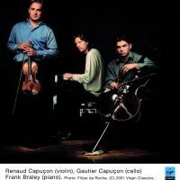 Les frères Capuçon avec le pianiste Braley  - Tous droits réservés ©