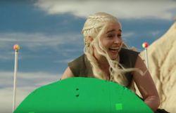 Bêtisier très drôle de la s6 et premier teaser de la s7 pour Game of Thrones