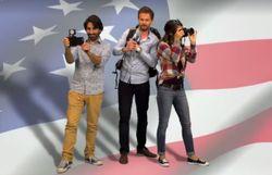 Suivez dans Le Drive 'La course à la Maison Blanche' de 3 journalistes 3.0