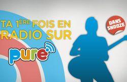 Ta première fois en radio - avec vidéo d'explication de Raphaël Charlier