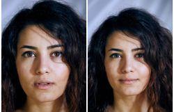 Habillé ou tout nu: une série de photos explore les différences d'expressions sur le visage