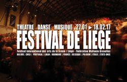 Festival de Liège : théâtre, danse, musique, du 27/1 au 18/2