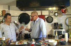 Les recettes de Gerald, les vins d'Eric : salade d'écrevisses