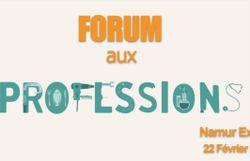 Forum aux professions le 22 février à Namur