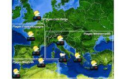Voici la météo des plages de l'été... sans pluie, svp !