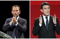 Primaires de gauche: un second tour entre Benoît Hamon et Manuel Valls
