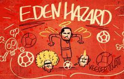 Au lendemain de son fabuleux match, Eden Hazard a déjà sa chanson hommage