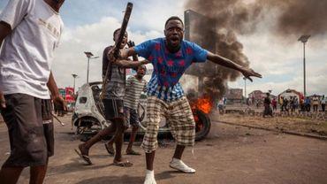 Manifestations violentes en RDC