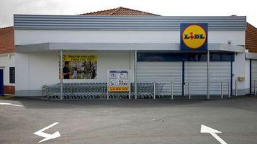 Un magasin Lidl