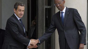 Nicolas Sarkozy et Paul Kagame