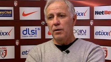 René Girard, entraîneur de Lille