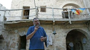 Le jésuite Paolo Dall'Oglio à Mar Moussa