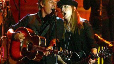 Bruce Springsteen lors d'un concert en Italie
