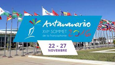 Le 16e Sommet de la Francophonie a lieu à Madagascar du 22 au 27 novembre