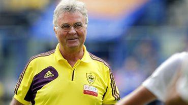 Guus Hiddinck, entraineur de Anzhi