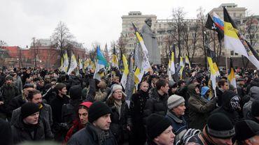 Ils étaient plus de 10 000 à manifester dans les rues de Saint-Pétersbourg.