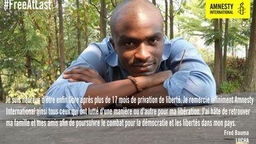 Témoignage de Fred Bauma, militant de La Lucha, la 'Lutte pour le changement' en RDC
