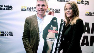 Selon Filip Dewinter, sa fille An-Sofie pourrait concurrencer Di Rupo en Wallonie pour les élections 2014