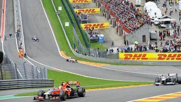 GP de F1 à Francorchamps jusqu'en 2015: MR et Ecolo veulent y voir clair