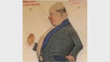 """Affiche de l'expo """"Manger toute une histoire"""""""