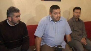 Les membres du parti Islam (Redouane Ahrouch au centre)