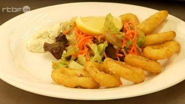 Sait-on ce qu'il y a dans les calamars frits?