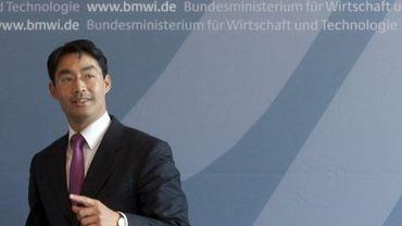 Le ministre allemand de l'Economie Philip Rösler le 27 juillet 2011 à Berlin