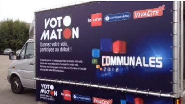 Le Votomaton était à Seraing vendredi matin.