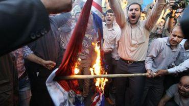 Manifestations en Iran contre le film anti-islam et les caricatures de Mahomet publiées par Charlie Hebdo