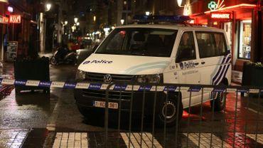 Bruxelles: importantes opérations en cours, forces policières en nombre dans le centre ville