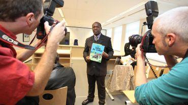 Bienvenu Mbutu Mondondo estime que Tintin au Congo est raciste