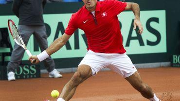 La Suisse devant, Federer se plaint
