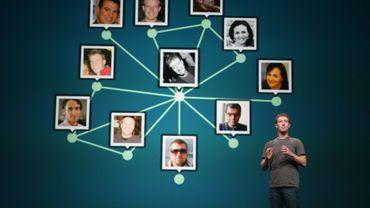 Marc Zuckerberg lors d'une conférence de presse