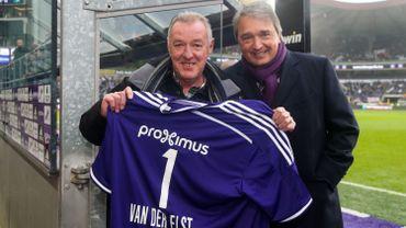 François Van der Elst avec Herman Van Holsbeeck