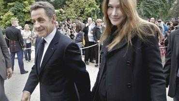 Le couple Sarkozy